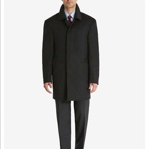 RALPH LAUREN Brown Men's Wool Over Coat